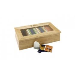 Zásobník na čaj, drevo