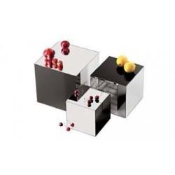 Zrkadlový podnos kocka, akryl