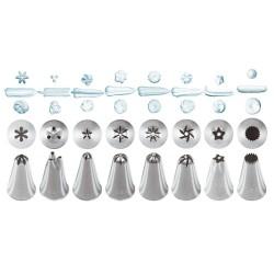 8-dielna súprava antikorových špičiek