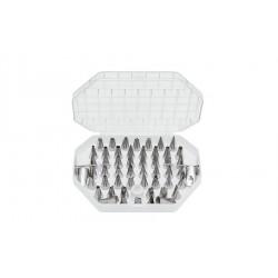 55-dielna súprava antikorových špičiek