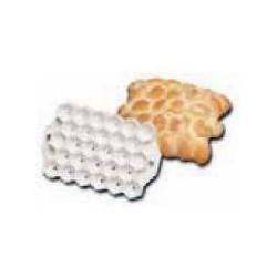 Forma na pečivo, včelí plást
