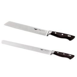 Nôž na chlieb s vlnitým ostrím, kovaný