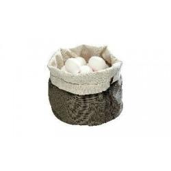 Nahrievacie vrecko oválne, bavlna