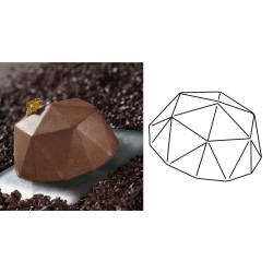 Silikónová forma Flexipan®, Diamond