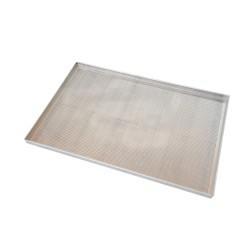 Plech na pečenie hliníkový dierovaný so silikónovým povrchom