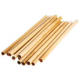 Bambusové slamky 250 mm, bal. 150 ks