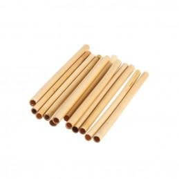 Bambusové slamky 140 mm, bal. 24 ks