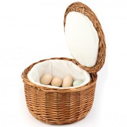 Kôš na varené vajíčka, ratan