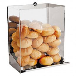 Zásobník na chlieb-pečivo, antikoro/akryl