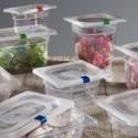 Polypropylénové gastronádoby s etiketou